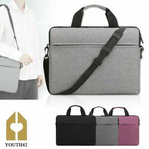 Laptop Bag 15.6 Inch Waterproof Notebook Case Shoulder Handbag Briefcase Bag UK