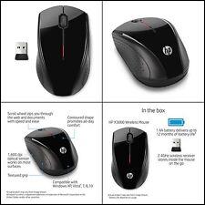 HP Desktop Computer Laptop PC Portable Bluetooth 2.4 GHz Wireless Mouse US New
