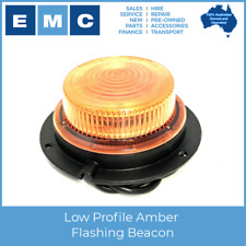 Amber Flashing Beacon - Low Profile LRB130!