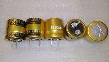 2pcs Audio Note electrolytic capacitors 500V 5uf
