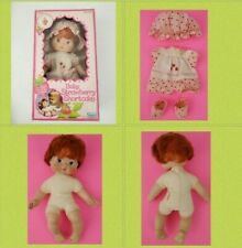 Vintage Baby Strawberry Shortcake Blow Kiss Doll Vintage 1982 used with box