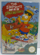 THE SIMPSONS BART VS THE SPACE MUTANTS - NINTENDO NES EUROPA VERSION PAL B BOXED