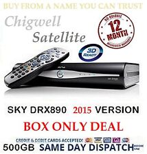 SKY PLUS+ HD RECEIVER BOX 500GB ON DEMAND DRX890
