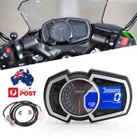 Digital Speedometer Tachometer Odometer For 4 Stroke 1/2/4 Cylinders Motorcycle