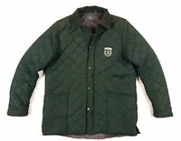 POLO CLUB Mens Quilted Jacket XL Hunting Green