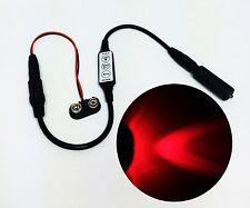 Micro Effects Red LED Light & Control Strobe Flash Blink 9 Volt MEL-PR1-D-9VB