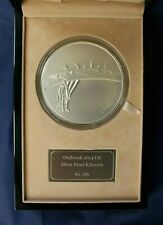 """2014 Silver Proof Kilo £500 coin """"WWI Outbreak"""" in Case with COA    (AC9/1)"""