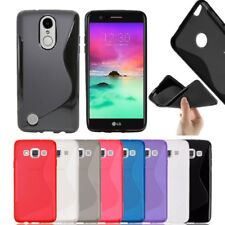 S-Line Soft Silicon Gel Case Cover For Smart Phone LG K4 K8 K10 2017