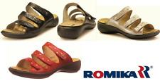 Romika shoes Germany Orthotic friendly comfort leather slip on Sandals Ibiza 66