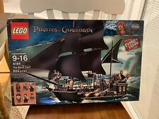 LEGO Pirates of the Caribbean Black Pearl Ship 4184 100% Complete Set Manuals