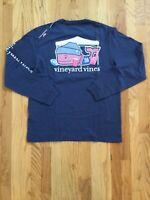 NWT Men's Vineyard Vines Tailgate Football Whale Pocket T-Shirt  M, L, XL Or XXL