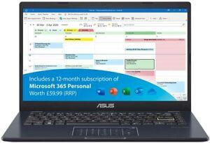 ASUS VivoBook, Office 365 - L410MA 14 inch Full HD 2K Star Black-Metal