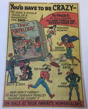 1948 DC Comics ad page~GREEN LANTERN,Wonder Woman,The Flash,Mutt & Jeff,etc