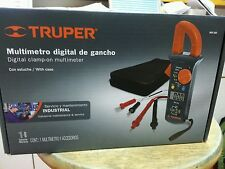MUT-202 Digital Clamp-on multimeter Truper with case