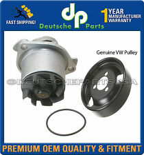JETTA GOLF PASSAT CORRADO VR6 V6 2.8 WATER PUMP 021121004X + GASKET+ PULLEY 3pc