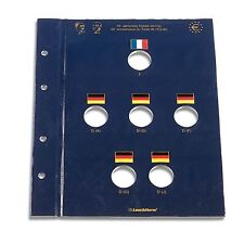 "Leuchtturm münzblatt vista 2 euro"" 50 años elíseo-tratado"""