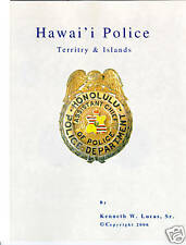 HAWAII POLICE Chronology of Badges by Lucas