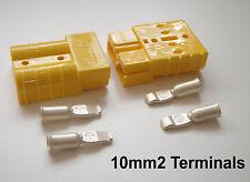 COPPIA connettori Anderson 50 Amp 10 mm Cavo Terminal Formula 3, Ford, Vee, Batteria