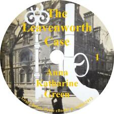 The Leavenworth Case, Mystery Audiobook by Anna Katharine Green on 9 Audio CDs