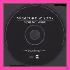 Sigh No More by Mumford & Sons (CD, 2009, Gentlemen of the Road) Excellent CD!