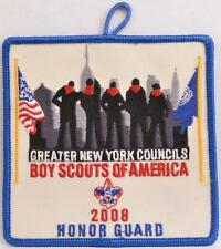 BSA 2008 GNYC Greater NY Councils Honor Guard Boy Scout Activity Pocket Patch
