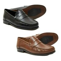 Brand New Lucini Mens Smart Casual Loafers Designer Slip on Party Driving Shoes