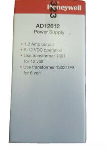 Honeywell AD12612 Power Supply (New In Box)