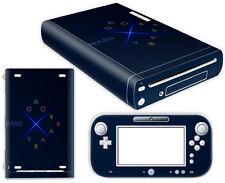 Nintendo Wii U Skin Design Foils Aufkleber Schutzfolie Set - Ultimate Gamer
