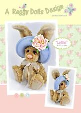 LOTTIE HARE - Sewing Craft PATTERN - Artist Jointed Rabbit Bear Pattern