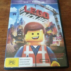 The Lego Movie DVD R4 VERY GOOD - FREE POST