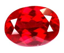 8.45Ct Romantic Natural Royal Red Ruby Oval Shape Loose Gemstone Certified A1267