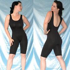 schwarzer CATSUIT* Ganzanzug* L 44 Fitness Gymnastikanzug stretchig weich* Body