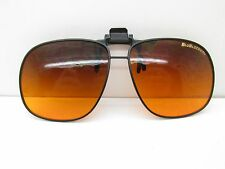 Blublocker SUNGLASS CLIP-ON 60-14- Black Square Sport TV6 33194