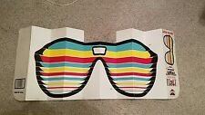 Cool Retro Sunglasses Auto-Shade Sun Visor- Vintage 1980s!