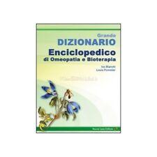 LIBRO GRANDE DIZIONARIO ENCICLOPEDICO DI OMEOPATIA E BIOTERAPIA - IVO BIANCHI
