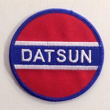 DATSUN CLOTH PATCH (D) 510 SSS 720 1200 1600 180B 240Z 260Z FAIRLADY BLUEBIRD