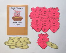 Teacher Made Math Center Learning Resource Game Place Value Digit Values