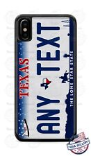 Texas State Vintage License Plate Phone Case For iPhone 11 Pro Samsung LG etc