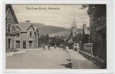THE CROSS ROADS, ABERFELDY: Perthshire postcard (C29675)