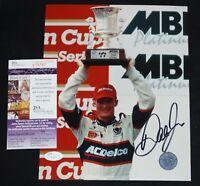 DALE EARNHARDT JR Signed NASCAR Racing 8x10 photo + JSA COA T75767