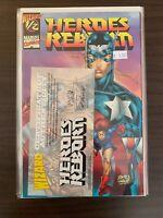 Heroes Reborn 1/2 Variant High Grade Comic Book C36-75