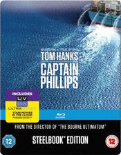 Captain Phillips Steelbook Blu-RAY NEW BLU-RAY (SBR68928SBUV)