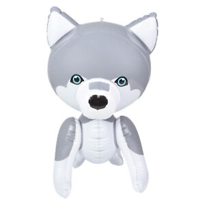 """24"""" Husky Puppy Dog Inflatable - Baby Wolf Inflate Blow Up Toy Party Decoration"""