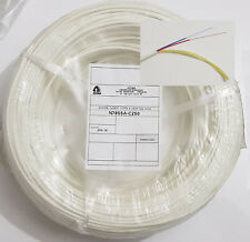 Cable Fibre Optique blanc  - 2FO interieur - 250m - 2 Tubes Rouge et Bleu