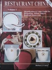 RESTAURANT CHINA ENCYCLOPEDIA ID VALUE GUIDE COLLECTOR'S BOOK 368 PAGES
