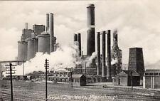 Newport Iron Steel Works Middlesbrough unused old pc Valentines