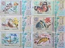 Indian Ocean Set 6 banknotes 31-36 dollars 2019 year UNC (private issue)