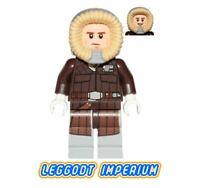 LEGO Minifigure Star Wars - Han Solo Hoth parka hood - brown sw709 FREE POST
