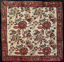 Hand Block Print Jaipur Floral Napkins Table Linen Cotton Beautiful Earthen