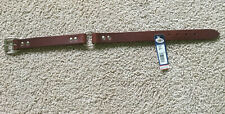 """21"""" Inch Leather Collar Bully Collar 1"""" Wide"""